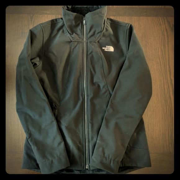 6f0ccd484 North Face Women's Medium Black Apex coat jacket